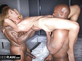 Insatiable Compilation of the best interracial threesome moments